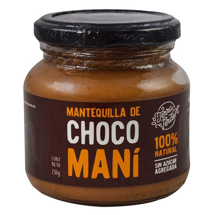 Mantequilla-de-chocolate-mani-TERRA-VERDE-230-g