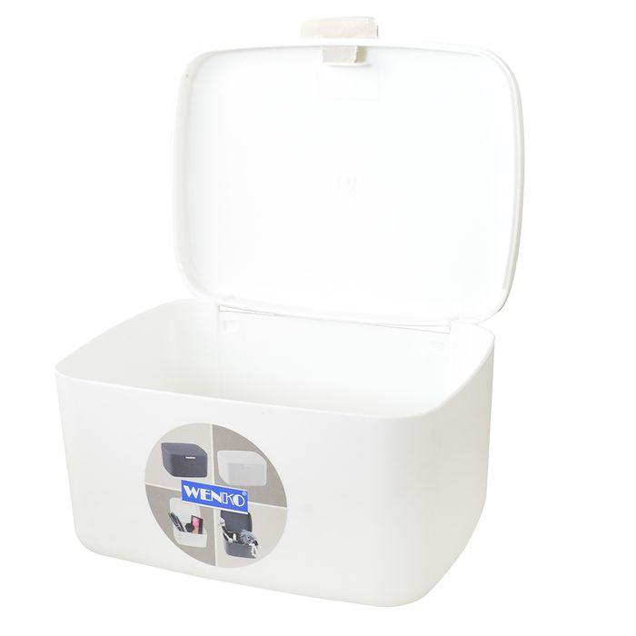 Caja-organizadora-para-baño-Barcelona-blanca