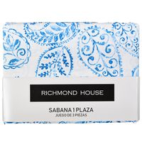 Juego-de-sabanas-Richmond-1-plaza-azul-estampado