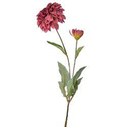 Flor-artificial-dalia-roja