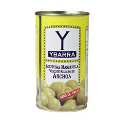 Aceitunas-rellenas-anchoas-YBARRA-130-g