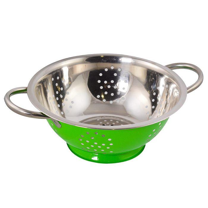 Colador-22-cm-acero-inoxidable-verde