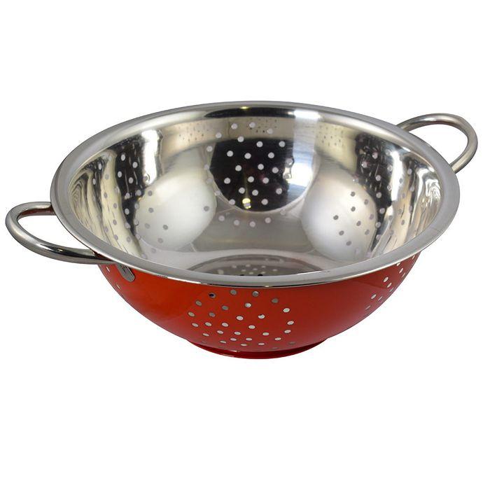 Colador-28-cm-acero-rojo