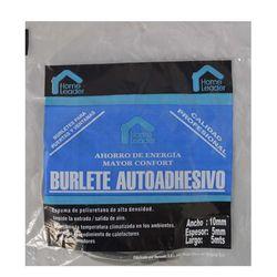 Burlete-HOME-LEADER-10x5-mm-5-mt-gris