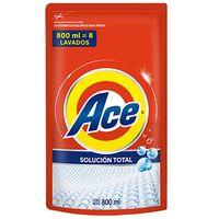 Detergente-liquido-ACE-Clasico-doy-pack-800-ml