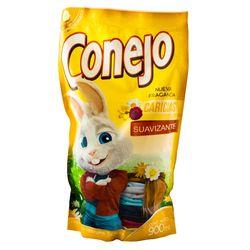 Suavizante-CONEJO-Caricias-doy-pack-900-ml