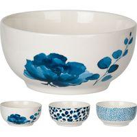 Bowl-12x9-cm-ceramica-blanco-decorado