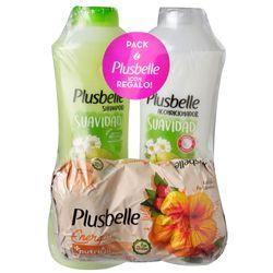 Pack-PLUSBELLE-suavidad-shampoo---acondicionador---tripack