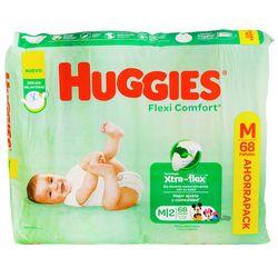 Pañales-HUGGIES-Flex-Confort-ahorro-M-68-un.
