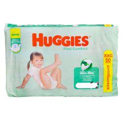 Pañales-HUGGIES-Flex-Confort-ahorro-XXG-50-un.