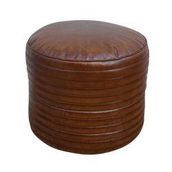Puff-redondo-en-cuero-50x50x40-cm