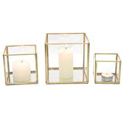 Fanal-metal-vidrio-base-espejo-h9-cm