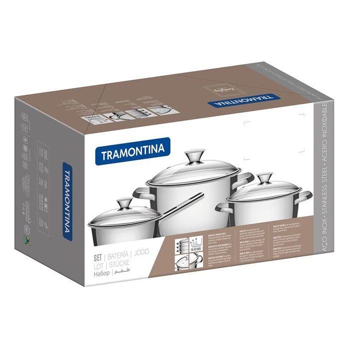 Bateria-cocina-4-piezas-acero-inoxidable-TRAMONTINA