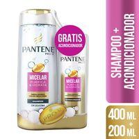 Pack-PANTENE-Micelar-shampoo-400-ml---acondicionador-200-ml