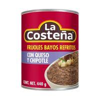 Frijoles-refritos-con-queso-y-chiplote-La-Costeña