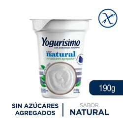 Yogur-YOGURISIMO-integral-sin-azucar-190-g