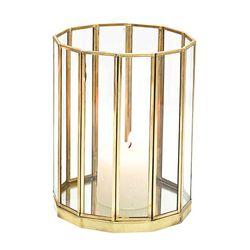 Fanal-metal-vidrio-base-espejo-h30-cm