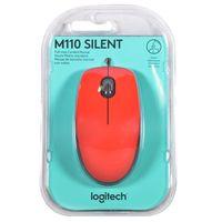 Mouse-optico-LOGITECH-Mod.-M110-rojo