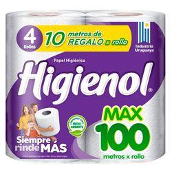 Papel-higienico-HIGIENOL-max-100-mt-x4